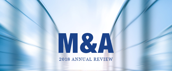 2018 M&A Annual Review